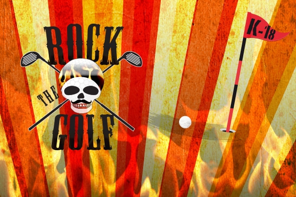 Rock The Golf - PE 5.7. Kulloo Golf, PE 26.7. Nurmijärvi Golf, PE 2.8. Vuosaari Golf