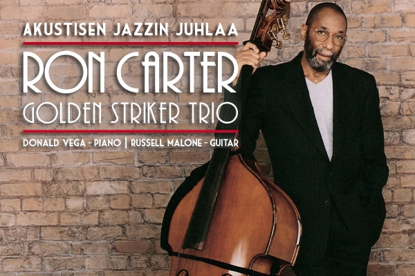 Ron Carter Golden Striker Trio Suomessa